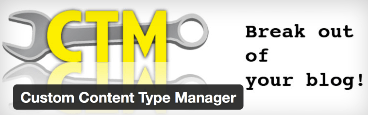 Custom Content Type Manager Plugin Header
