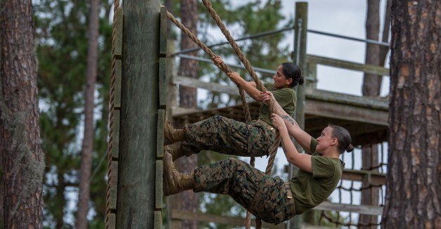 photo credit: November Company – Confidence Course – Nov. 18, 2015 - (license)