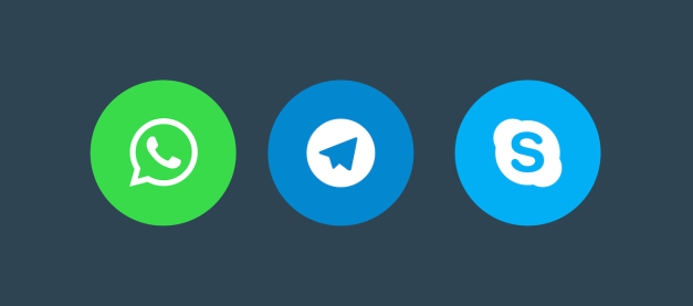 messaging-buttons