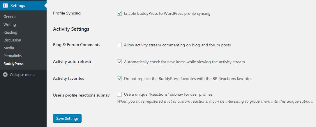 New Plugin Adds Emoji Reactions to the BuddyPress Activity