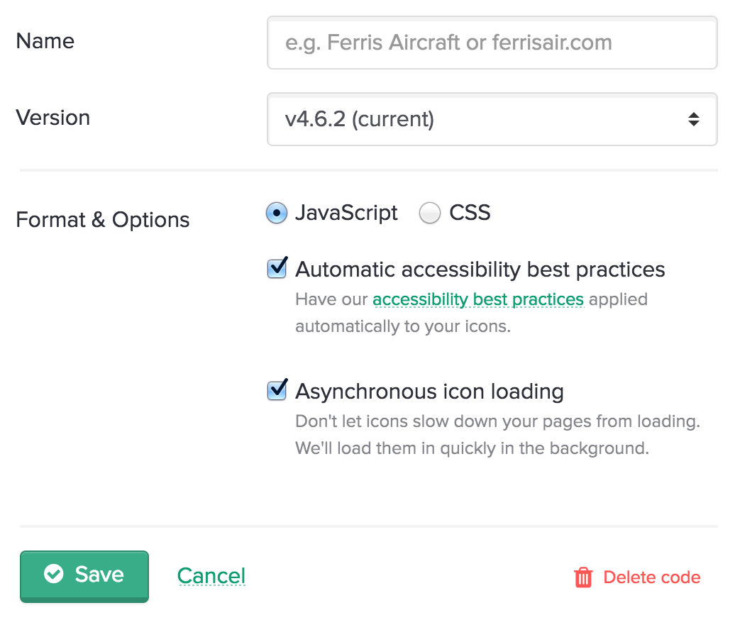 Font Awesome CDN Now in Beta, Loads Icons Asynchronously with