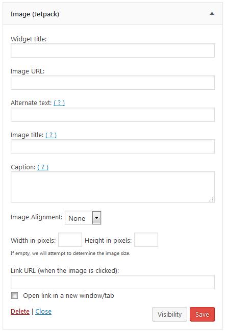 Jetpack Image Widget UI