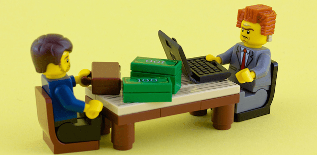 Business Lego Blocks