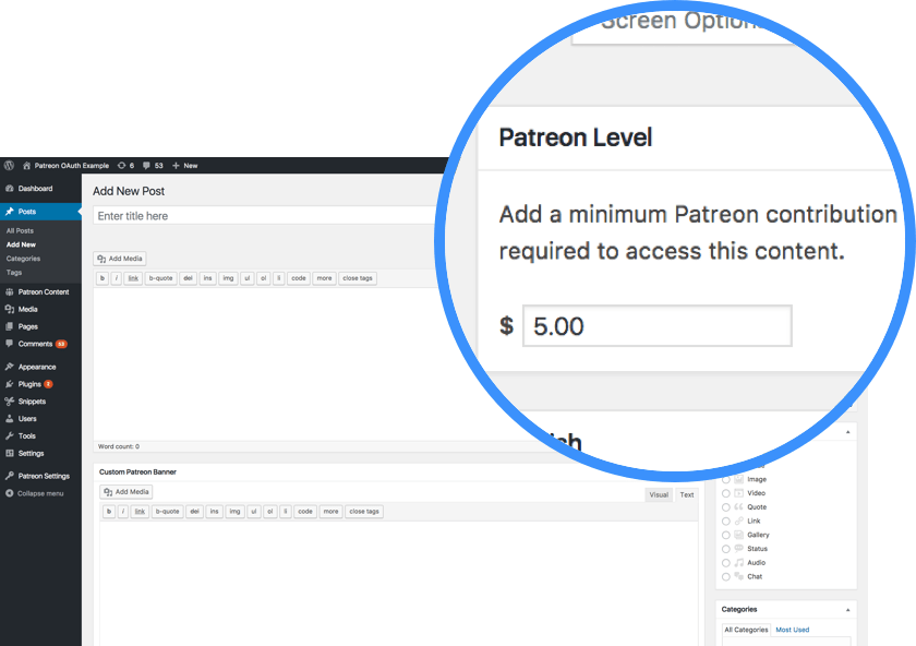 Free patreon Patreon logo