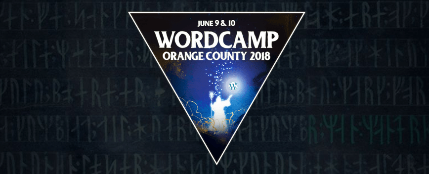 WordCamp Organge County 2018 Logo