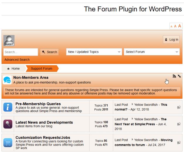 SimplePressForums Simple:Press Forum Plugin Is Up for Adoption design tips