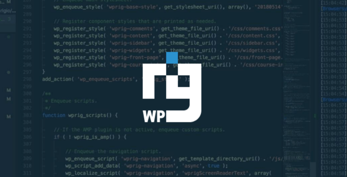 WP Rig - A WordPress Starter Theme and Build Process in One