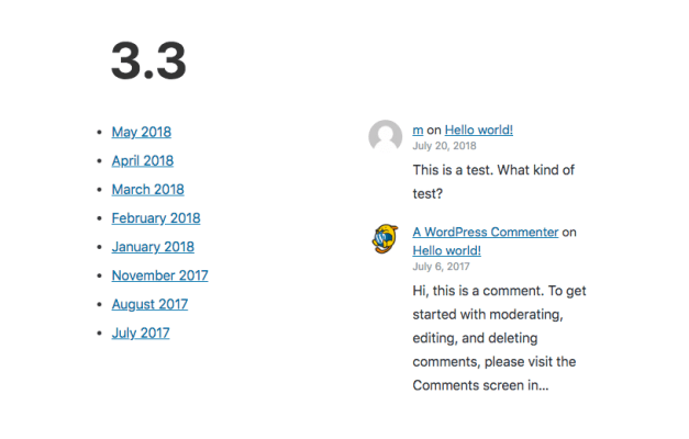 ArchiveRecentComments Gutenberg 3.3 Released, Adds Archives and Recent Comments Blocks design tips