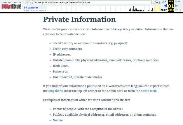 Screen-Shot-2018-08-16-at-8.29.14-AM WordPress.com Boots Sandy Hook Conspiracy Theory Sites, Bans Malicious Publication of Unauthorized Images of Minors design tips