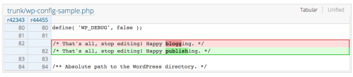 """Screen-Shot-2019-01-08-at-1.28.10-PM WordPress 5.1 to Replace """"Blogging"""" References with """"Publishing"""" design tips"""