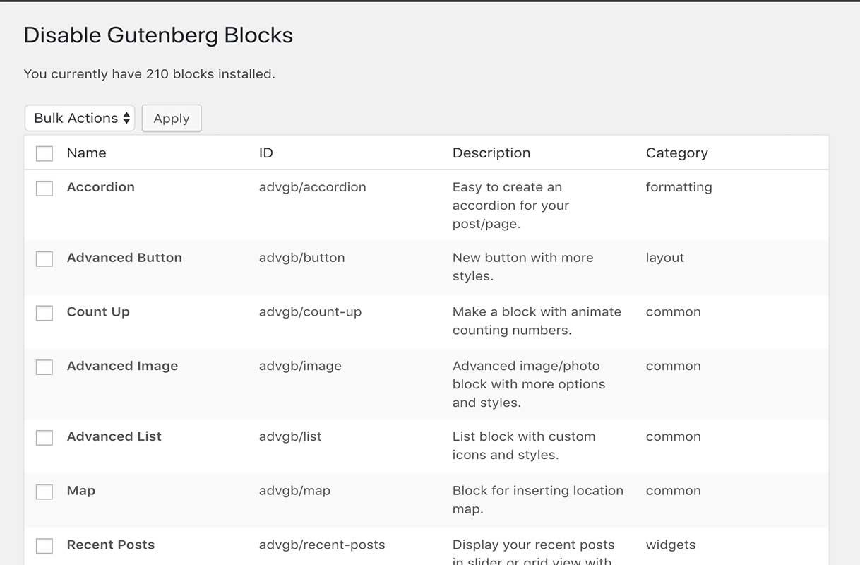 Block Management Features Proposed for WordPress 5 2 – WordPress Tavern