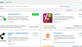 Jetpack 7 1 Adds Feature Suggestions to Plugin Search