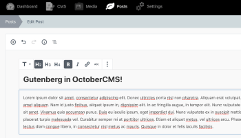 Laraberg, a Gutenberg Implementation for Laravel, is Now in