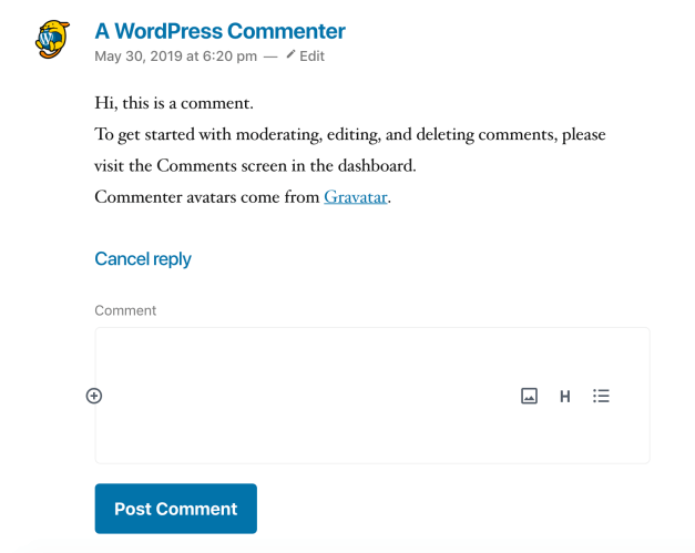 Screen-Shot-2019-07-23-at-12.39.28-PM New Experimental Plugin Brings the Block Editor to WordPress Comments design tips  News|Plugins|comments|gutenberg