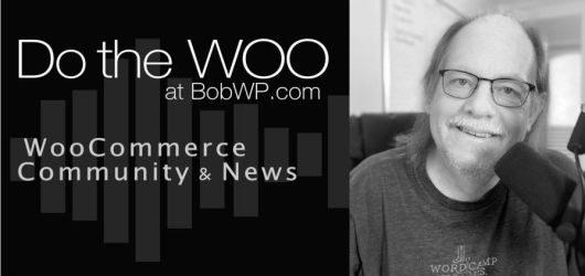 Decorative image for the 'Do the Woo' podcast with a photo of Bob Dunn.
