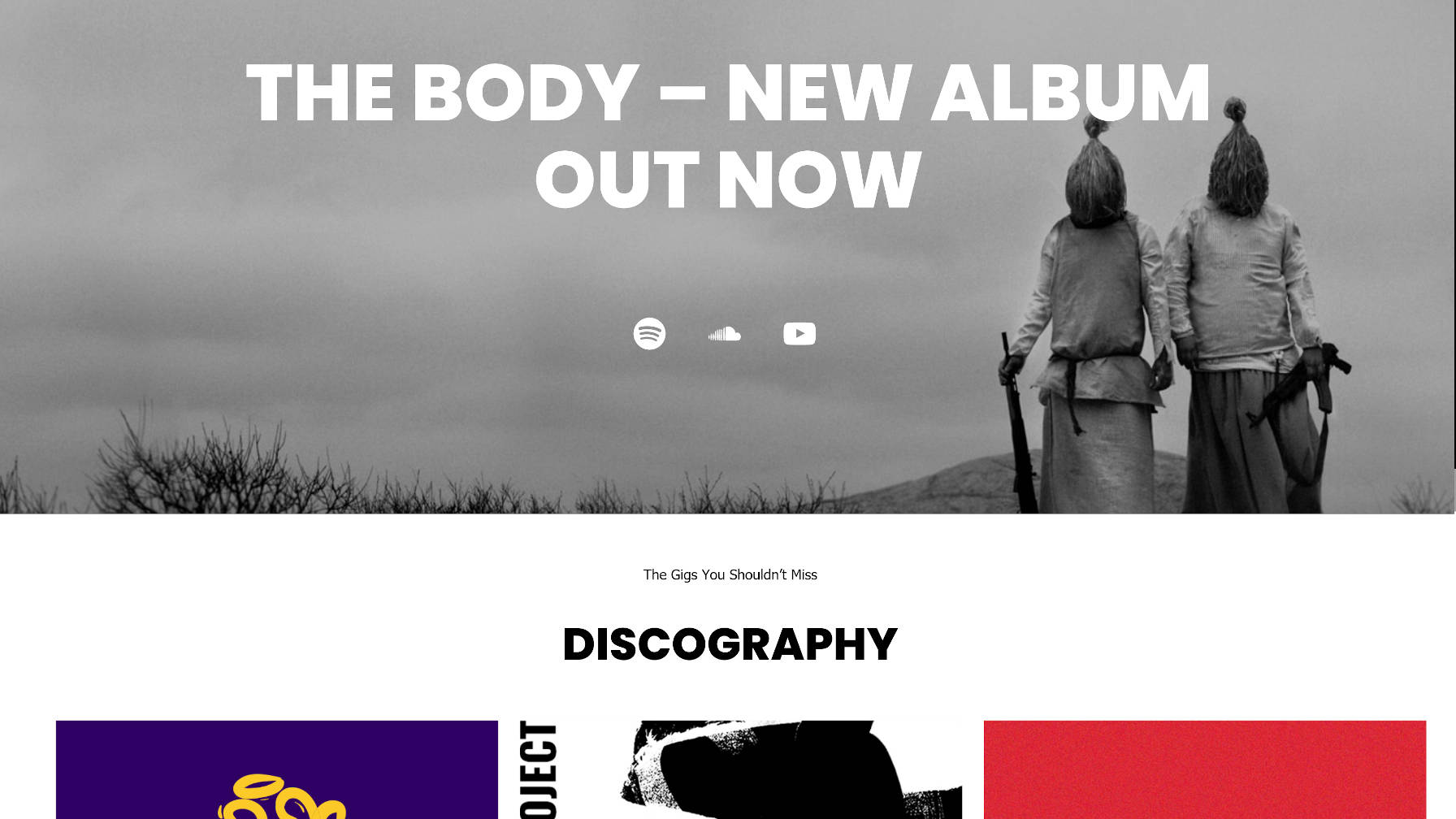 Recreating the Music Artist WordPress Theme Homepage With the Block Editor