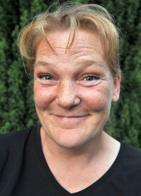 1. Kassiererin Andrea Tipp