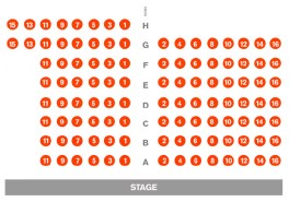 McGinn Cazale Theatre Seating Chart