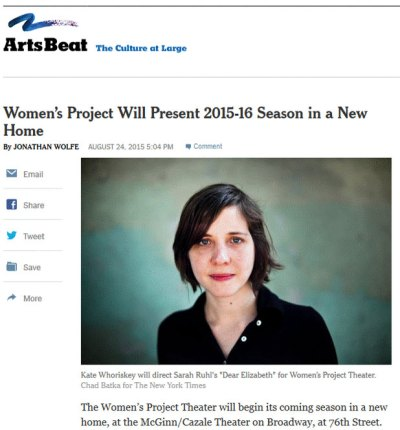 Womens-Project-Theater-New-York-Times-Article-Snapshot
