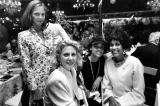 Blythe Danner and Daughter, Faye Wattleton and Daughter_1991 Annual Benefit for Women of Achievement-1