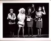 Deirdre O'Connell, Sheila Dabney, Dendrie Taylor, and Ching Valdes-Aran in ETTA JENKS (1987-88)