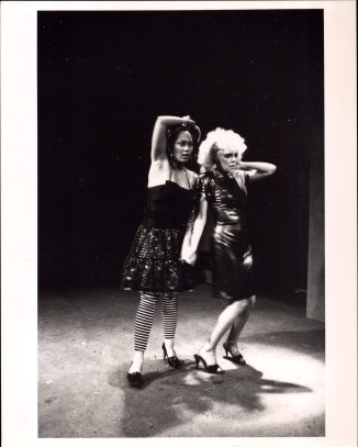 Deirdre O'Connell and Sheila Dabney in ETTA JENKS (1987-88)