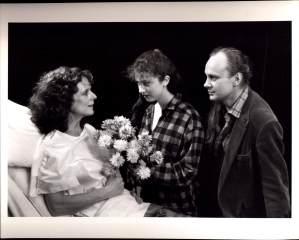 Joam MacIntosh, Lizabeth Kindel, and Edward Baran in NIGHT SKY (1990-91)