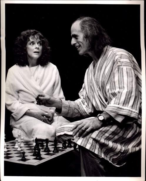Joan MacIntosh and Tom Caylor in NIGHT SKY (1990-91)