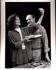 Joan Macintosh and Edward Baran in NIGHT SKY (1991)