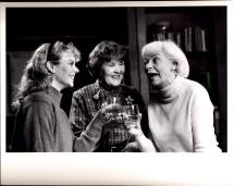 Mary Diveny, Jane Fleiss, and Helen Stenborg in NEIDECKER (1988-1989)