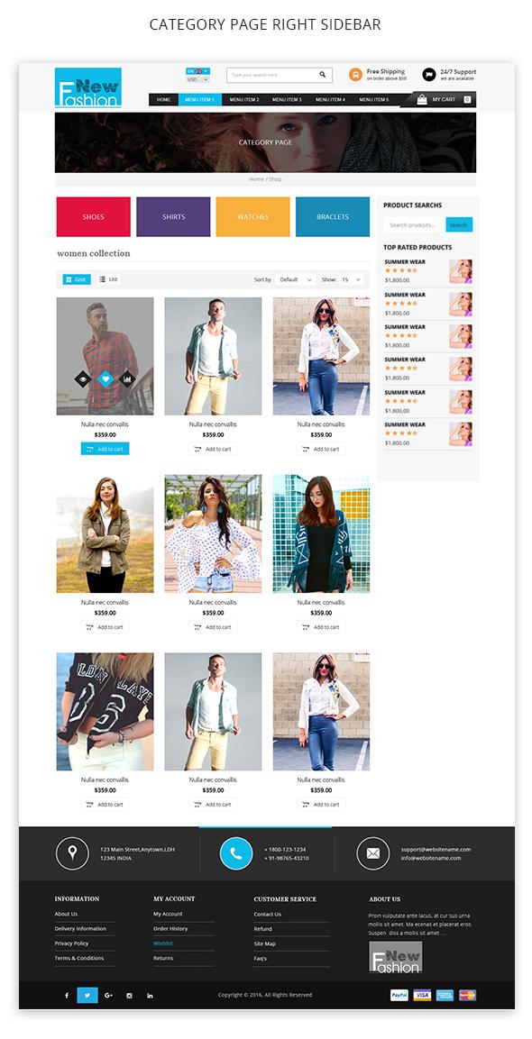 Fashion Multipurpose WooCommerce Theme - 7