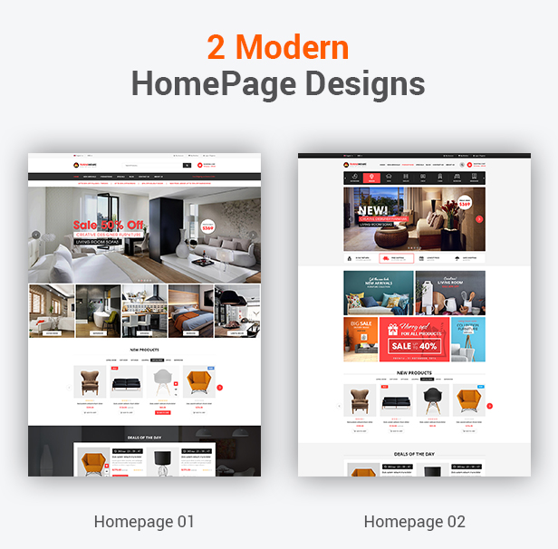 FurniHome - Furniture WordPress Theme