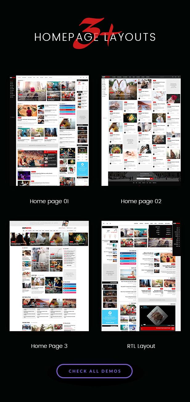 Responsive WooCommerce WordPress Theme - Expnews