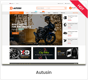 Autusin - Auto Parts & Car Accessories Shop WordPress WooCommerce Theme