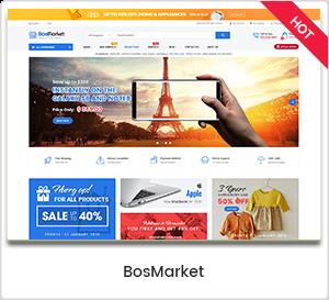 BosMarket - Flexible MultiVendor WordPress Theme