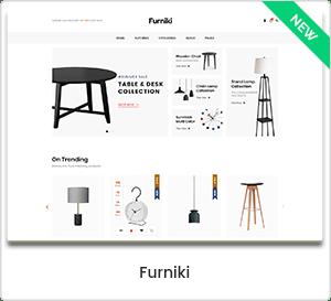 Furniki - Furniture Store & Interior Design WordPress WooCommerce Theme