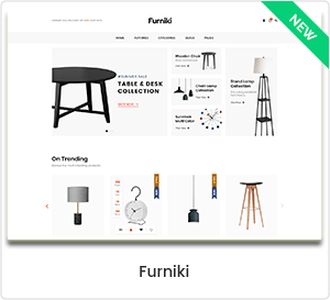 Furniki - Furniture and interior design store WordPress WooCommerce Theme
