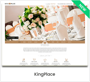 KingPlace - Hotel, Spa & Resort Booking WordPress Theme