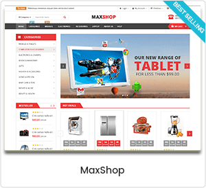 MaxShop - WordPress multipurpose theme for WooCommerce
