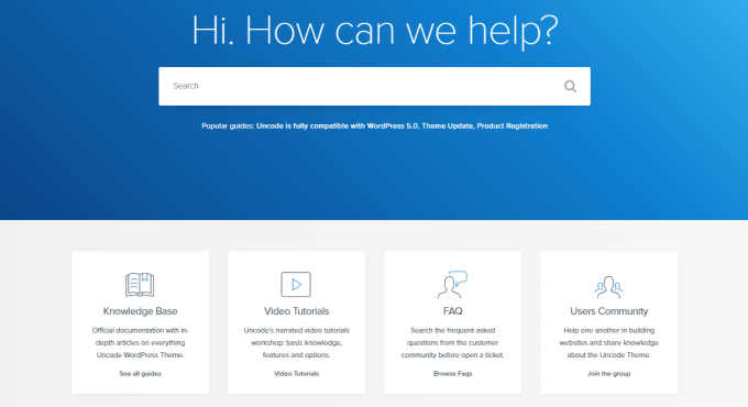 Uncode Documentation & Support