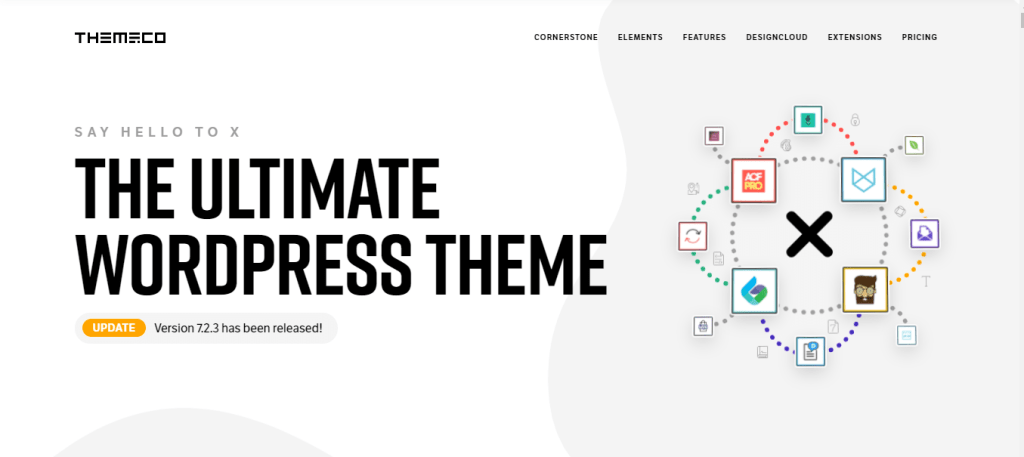 X WordPress theme Review