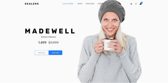 html ecommerce website templates