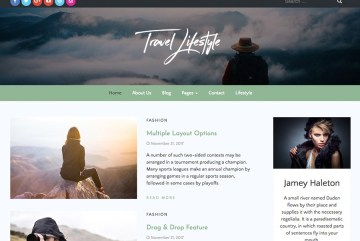 Travel Lifestyle By The Bootstrap Themes