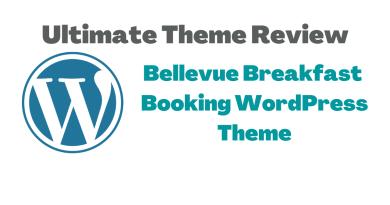 Bellevue Breakfast Booking WordPress Theme