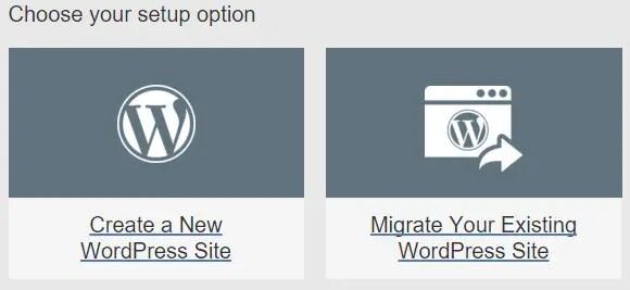 Create a new domain