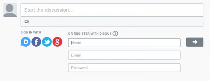 Disqus wordpress comment system