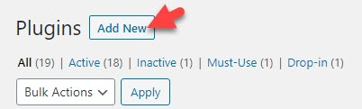 Add New Plugin Wordrpess