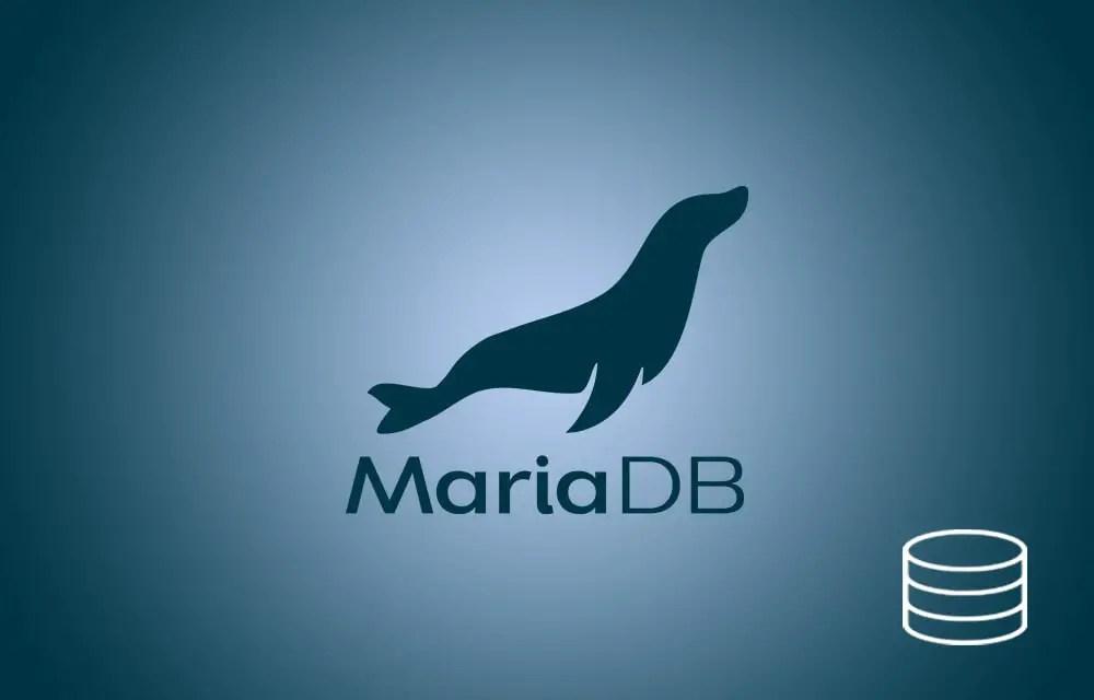 Create a Database in MariaDB