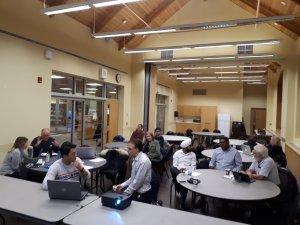 People at a WP Meetup
