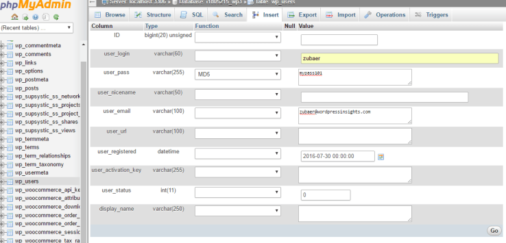 create new administrator account using mysql